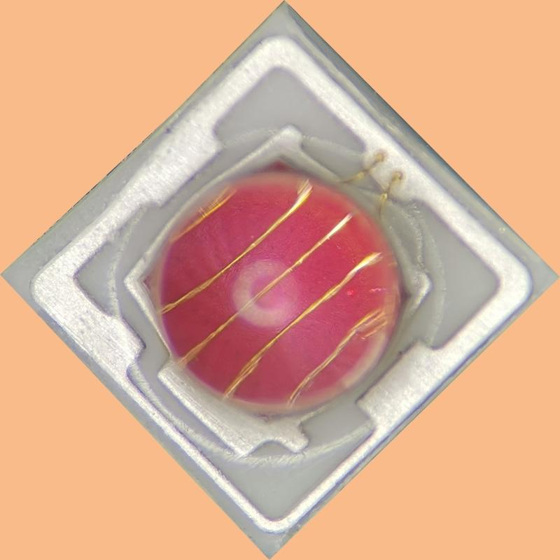 高红光陶瓷3030灯珠定制