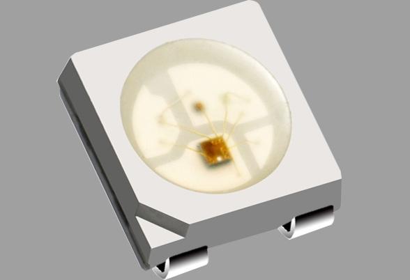 彩色LED七彩集成灯珠定制