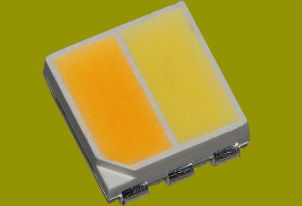 中山变色LED合成能双色灯珠价格